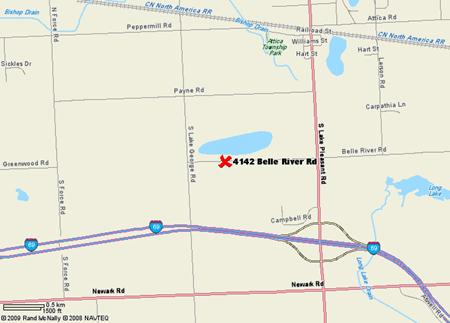 4142 Belle River Road, Attica, Michigan 48412